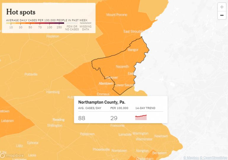 Northampton County Covid