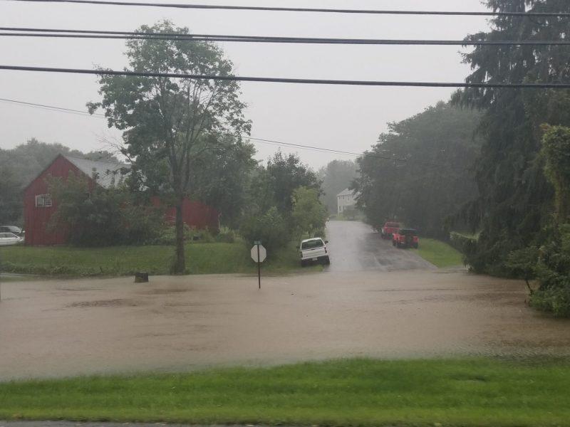 Flooding Lower Saucon
