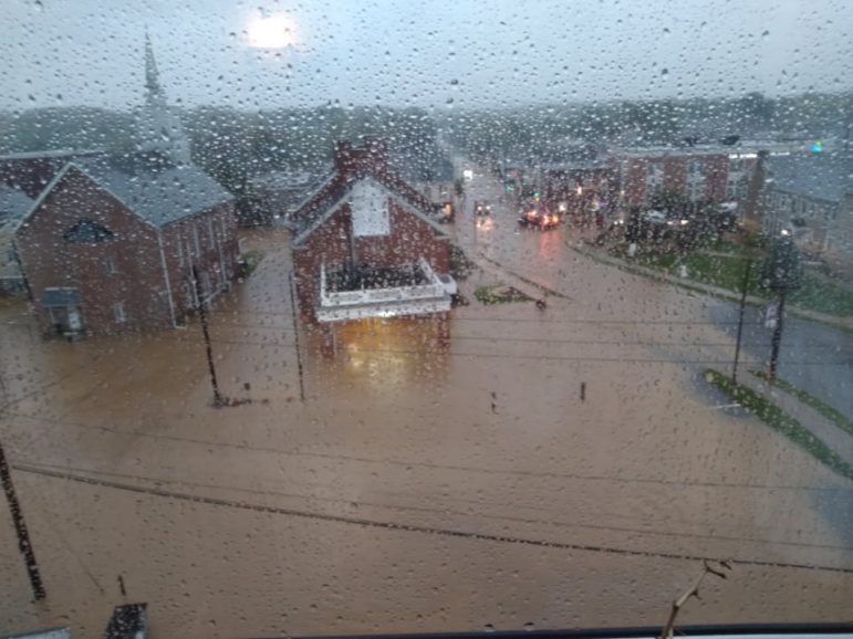 Ida Flood Flooding Hellertown