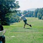 Steel Club disc golf event