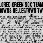 Baseball Hellertown Labor Day