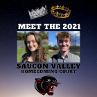 2021 Homecoming Court Sage Spohn James Townsend