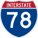 Expect Significant Delays for Nighttime Road Work on I-78